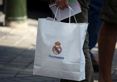 Real Madrid store bag