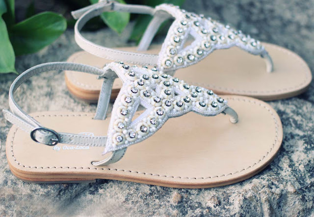 Oca-Loca Bejeweled Summer Sandals|Chichi Mary Kids Boutique