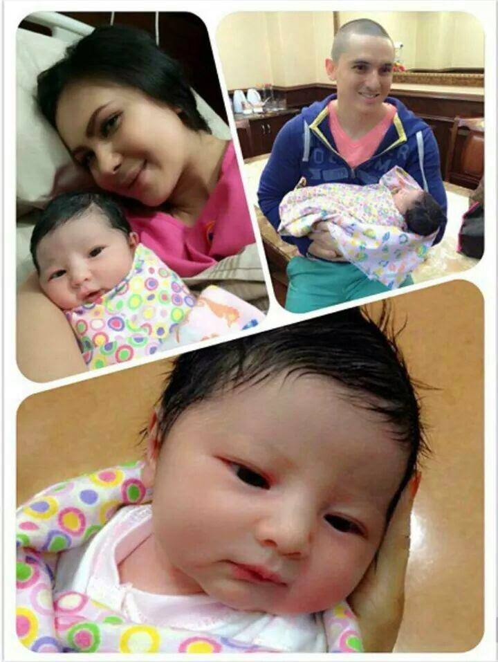 Baby comel 2014, artis jelita, kelahiran bayi