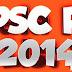 <center>RANK LIST OF DEPUTY COLLECTOR  LAND REVENUE  2014</center>