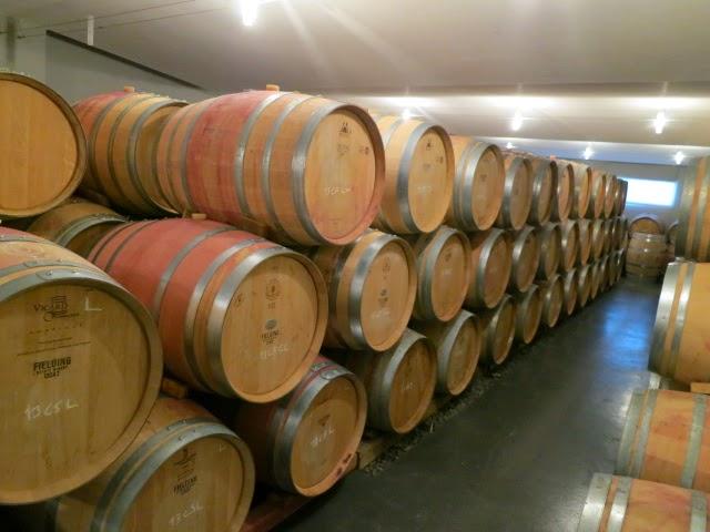 Barrel Cellar at Fielding Estate Winery