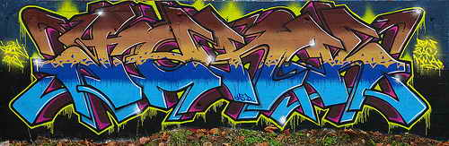 Best Graffiti Stack Alphabet Letters Three Colors