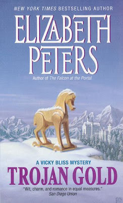 cover of Trojan Gold by Elizabeth Peters