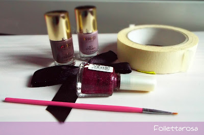 nail art geometrica tutorial
