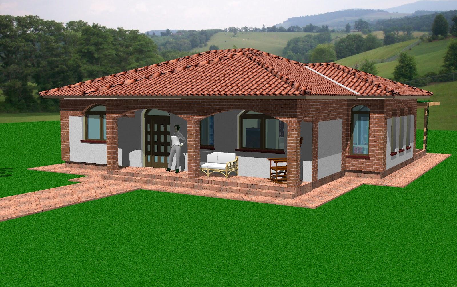 Proiecte de case proiecte de arhitectura for Case cu terase