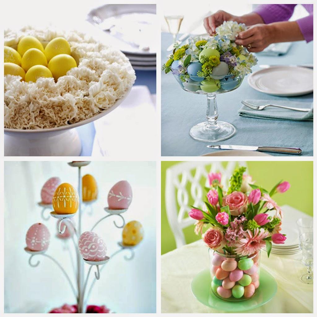 Como decorar una mesa para las fiestas de pascuas ideas - Centros de mesa de pascua ...