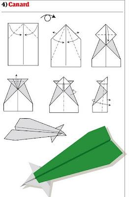 Membuat Macam-macam Pesawat dari Kertas
