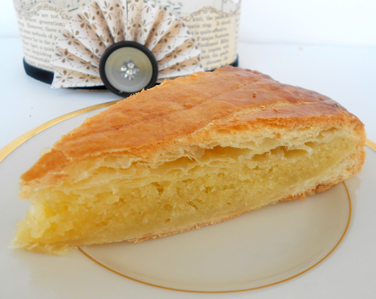 The Galette des Rois is the perfect dessert to bring to a dinner party ...