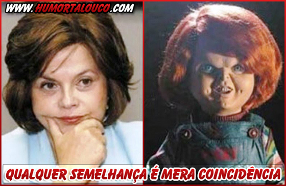 Qualquer coincidência é mera semelhança - Dilma-Chuck