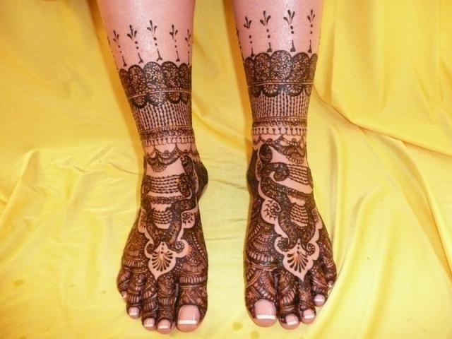 Mehndi Feet Images : Hoipyr mehndi designs for feet