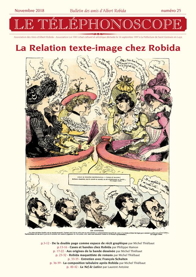 n°25 -  La Relation texte-image chez Robida