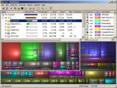 WinDirStat windows software