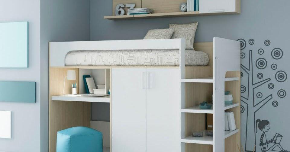 Tienda dormitorios juveniles decoraci n integral para tu for Camas compactas juveniles