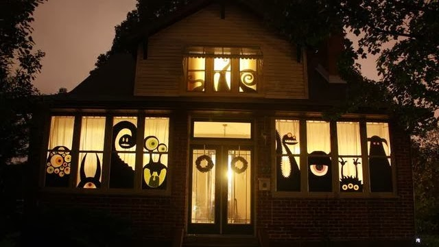 simple cheap halloween decorating