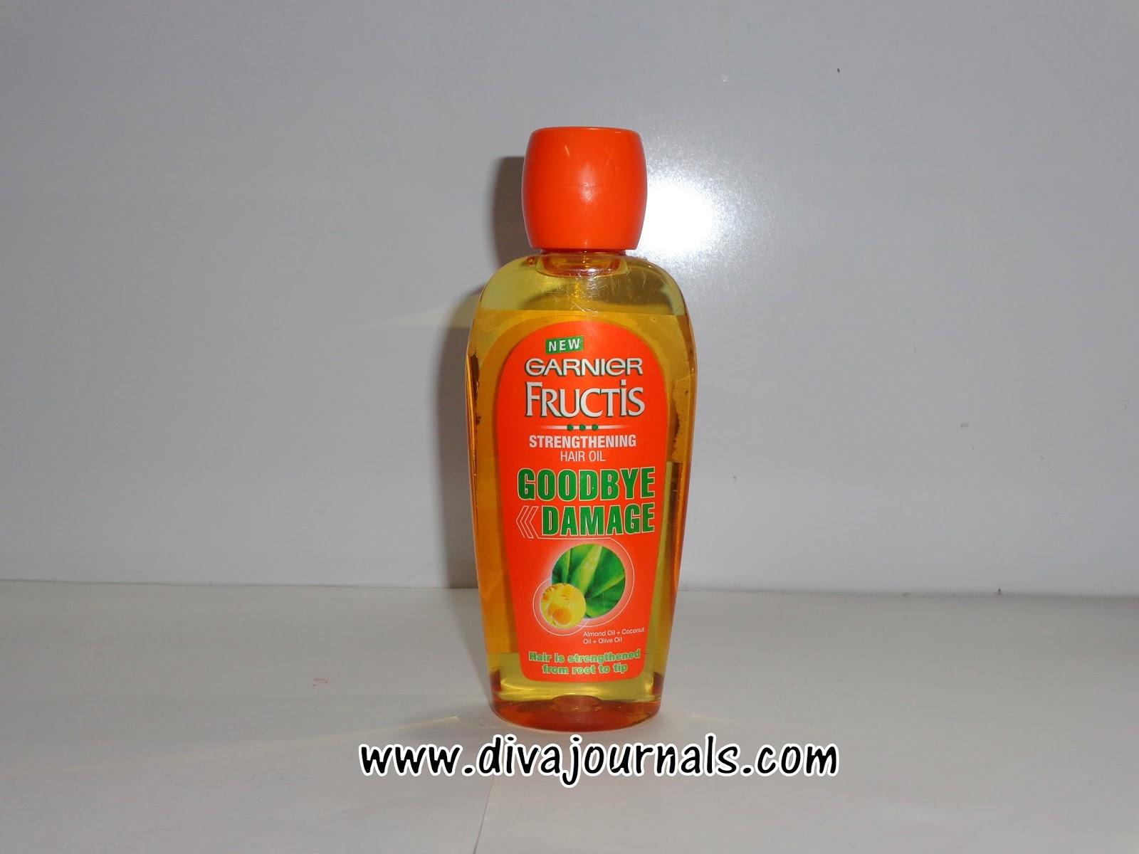 Garnier Fructis Goodbye Damage Shampoo-Conditioner-Serum-Oil Review