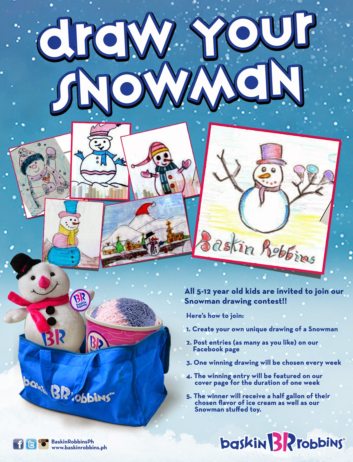 Timeless Confection Tous Les Jours Strawberry Fresh Cream Cake 2 E Voucher Baskin Robbins Philippines Draw Your Snowman Promo