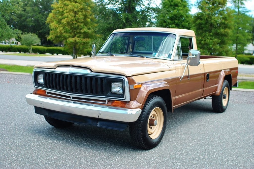 1981 jeep j20 4x4 pickup truck with only 27 000 original miles. Black Bedroom Furniture Sets. Home Design Ideas