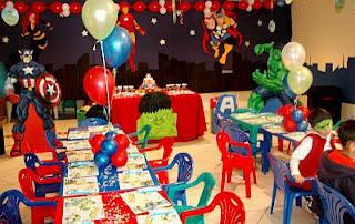 Decoracion Fiestas Infantiles Los Vengadores, Salones