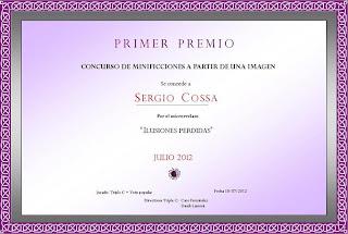 Ilusiones perdidas - certificado - Sergio Cossa