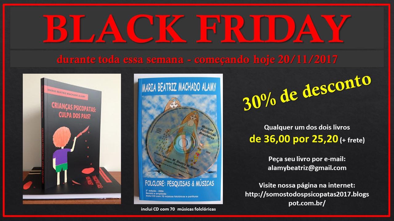 Black Friday 30% desconto