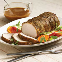 McCormick® Savory Sage Pork Roast with Apple Pork Gravy