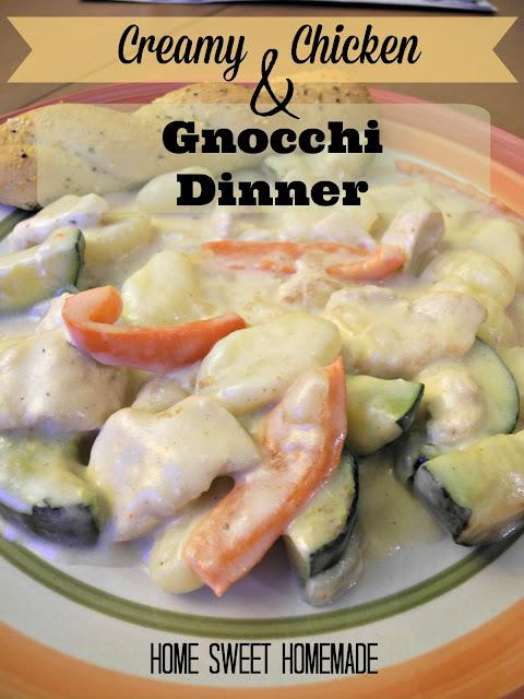 Creamy Chicken & Gnocchi Dinner