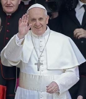 Pope Francis, formerly Cardinal Jorge Mario Bergoglio