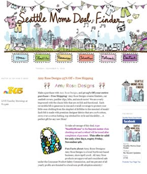 Featured: Seattle Moms Deal Finder