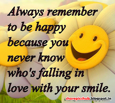 Beautiful Smile Quote Pic | Love With You Smile Quote For ...