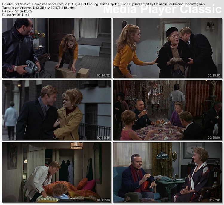 Capturas de pantalla: Descalzos por el parque | 1967 | Barefoot in the Park