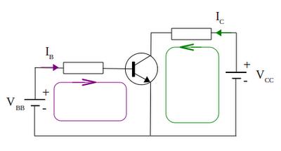 NPN transistors work