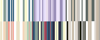 5-Colored Stripe Patterns and Textures