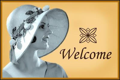 banner vintage welcome
