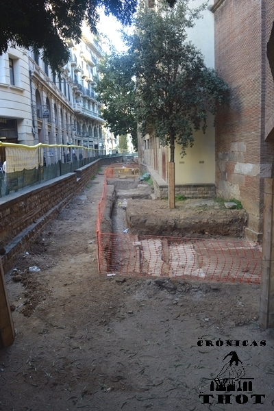 Intervención arqueológica en carrer de la Tapineria de Barcelona