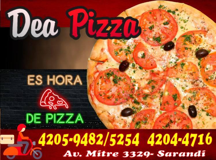 es hora de Pizza DEA PIZZA