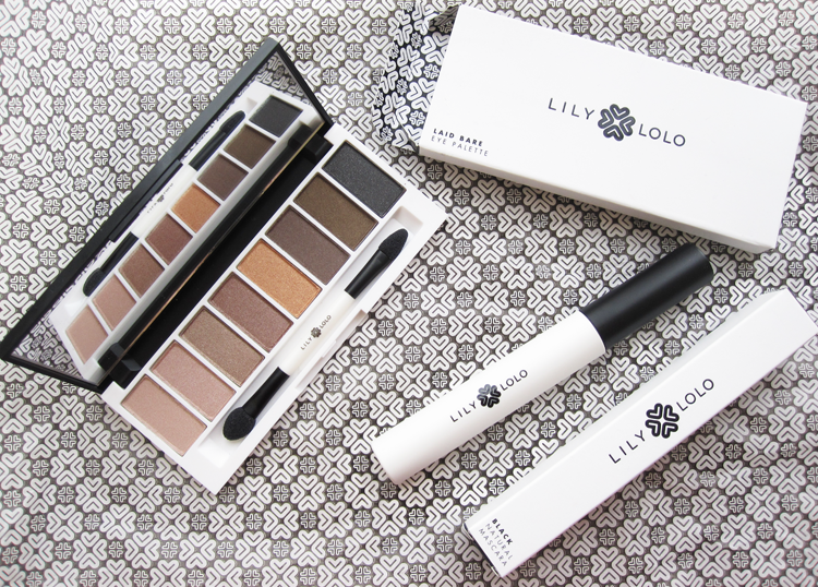 Lily Lolo Natural Mascara and Laid Bare Eyeshadow Palette review