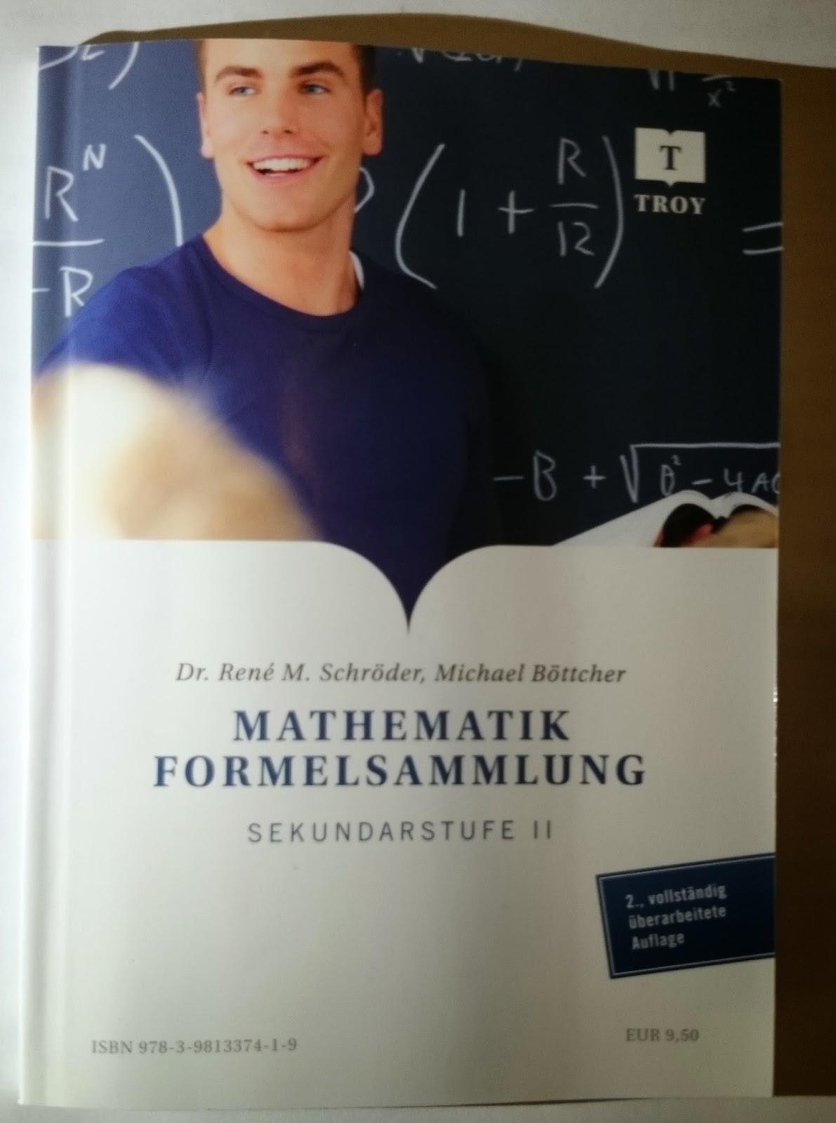 Mathematik Formelsammlung