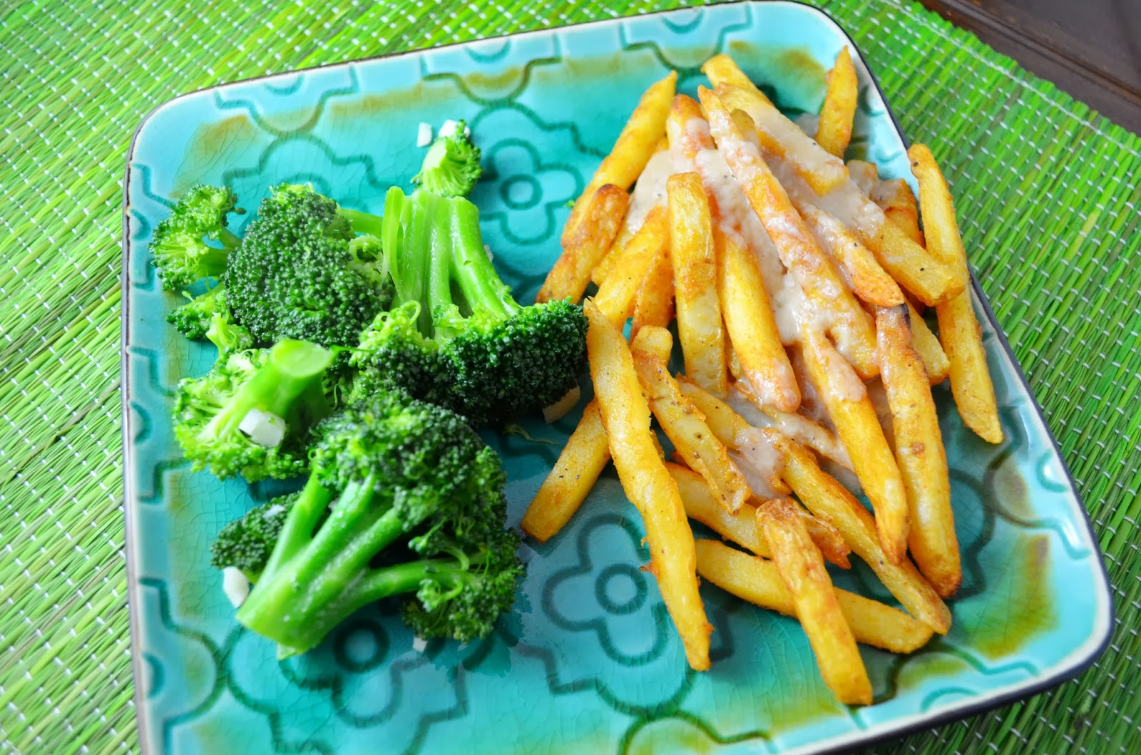 Image result for broccoli vs french fries