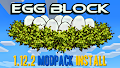 HOW TO INSTALL<br>EggBlock Modpack [<b>1.12.2</b>]<br>▽