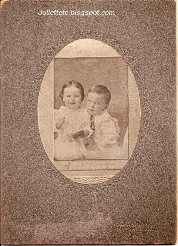 Josy Davis (1901-1903) and Orvin Davis (1899-1963)  http://jollettetc.blogspot.com