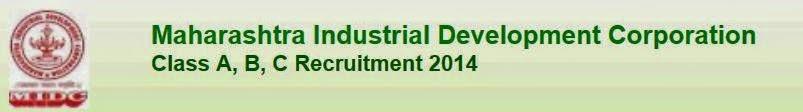 MIDC 2014 Recruitment