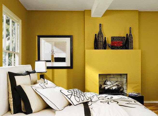 Interior exterior wall painting color combination Best paint for interior walls