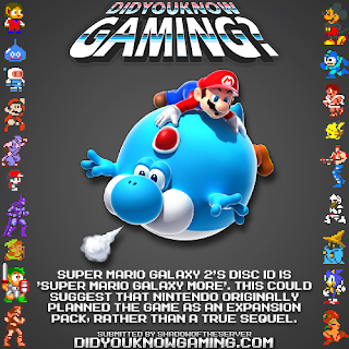super mario galaxy 2 fact Random Game Facts   Super Mario Galaxy 2