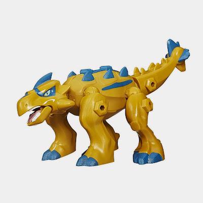JUGUETES - Jurassic World : Hero Mashers  Ankylosaurus | Dinosaurio | Figura - Muñeco  Toys | Producto Oficial Película 2015 | Hasbro B2161  A partir de 4 años