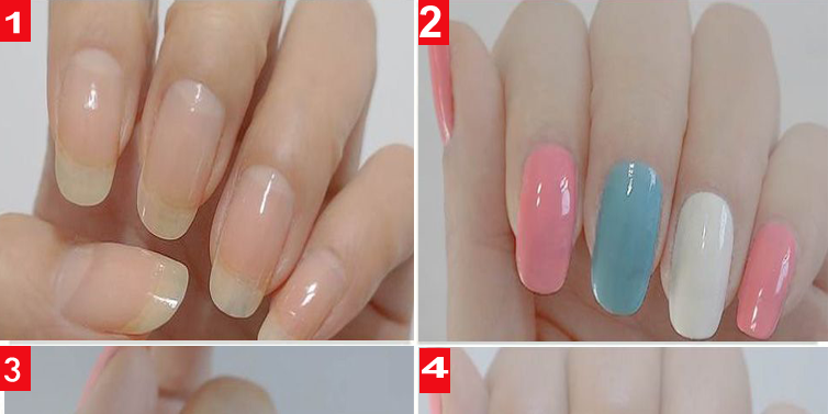 Cute rabbit nail art design tutorial for school girls emaggy cute rabbit nail art design tutorial for school girls prinsesfo Image collections