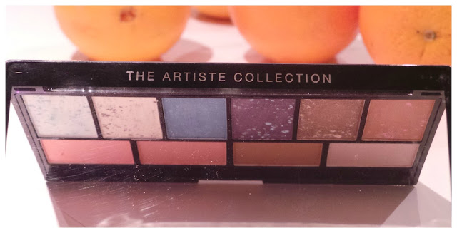 A picture of MUA The Artiste Collection Multi-use Palette