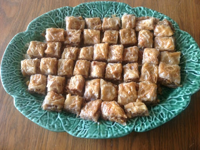 Homemade Baklava from my kitchen