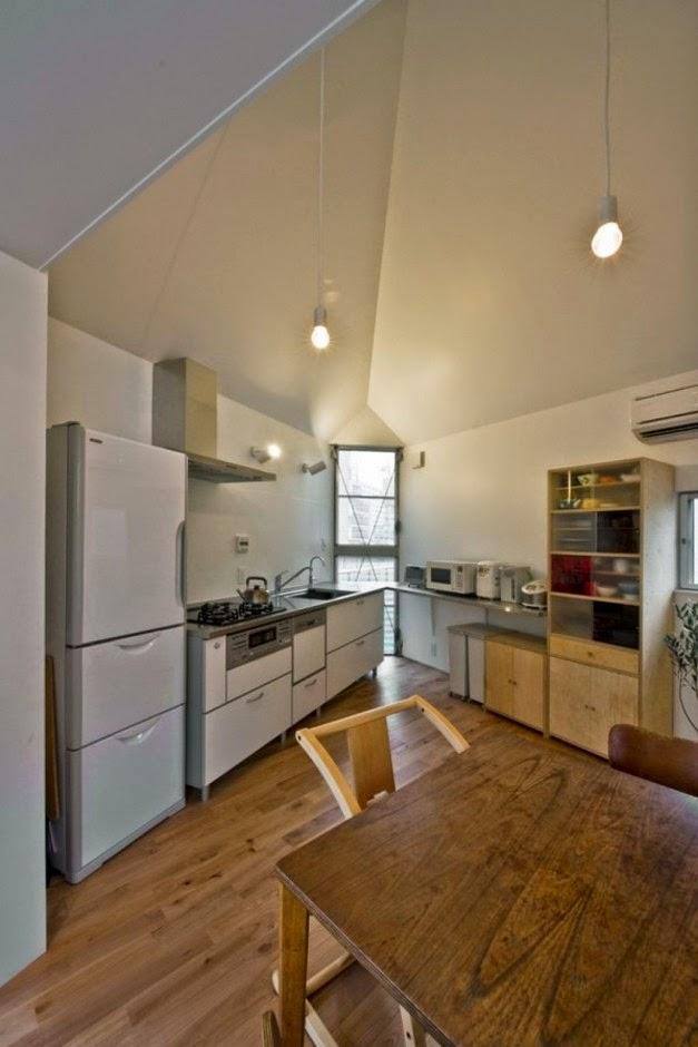desain dapur dengan lampu cantik desain rumah griya