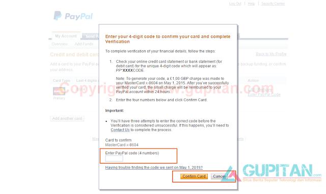 Cara Terbaru Verifikasi Paypal Menggunakan Payoneer