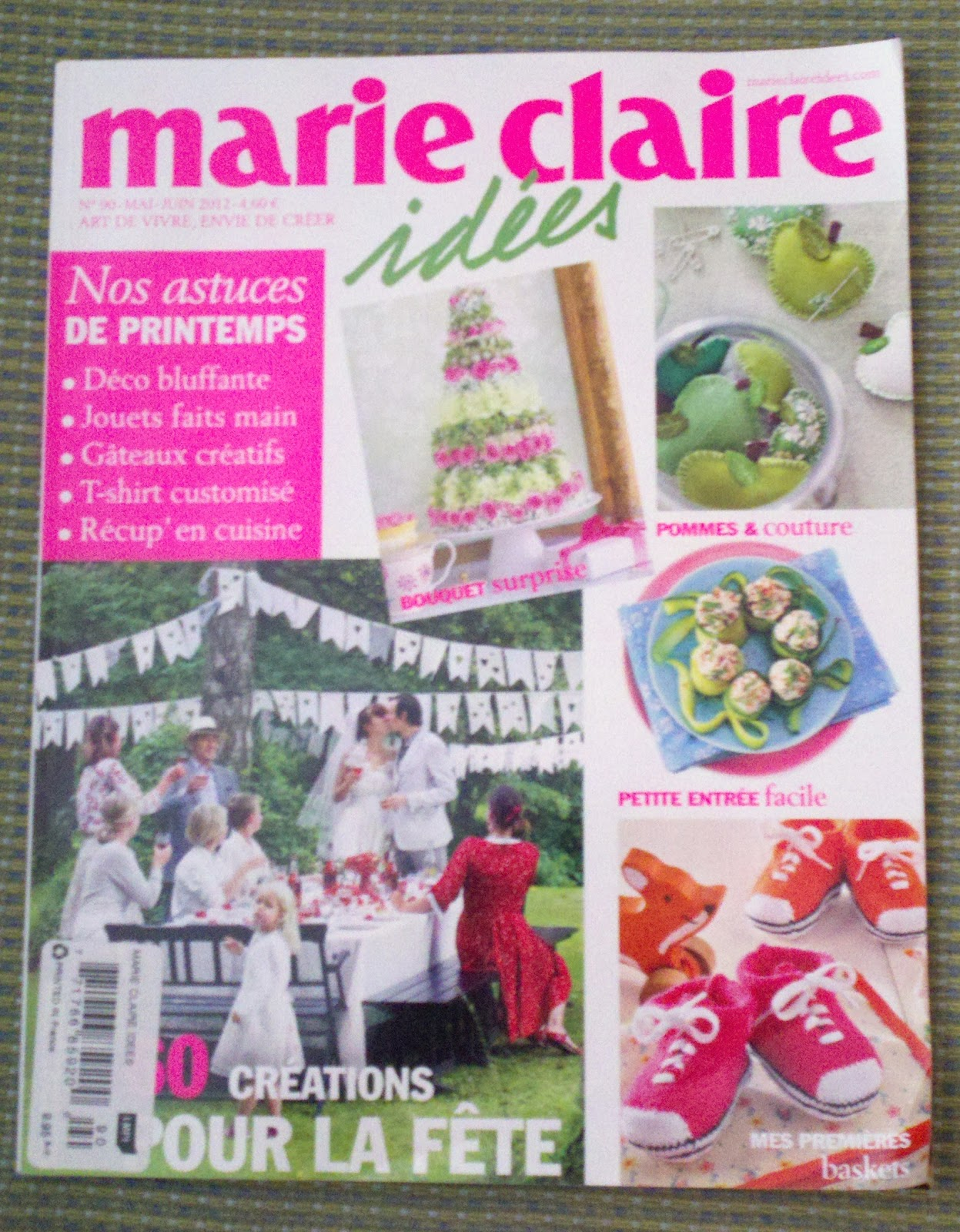 gingerbread girl 39 s quilting adventures j 39 adore marie claire idees. Black Bedroom Furniture Sets. Home Design Ideas